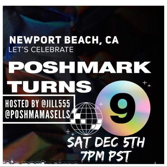 Poshmark Turns 9. Come celebrate with us virtually